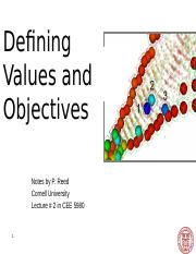 CEE 5980 Lec 2 Defining Values and Objectives (Student).pptx