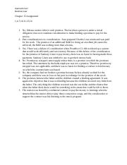 Chapter 15 Assignment gceci