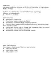 Cacioppo PSYC 2003 student outline Chapter 1 Part 1 History-4