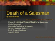 Death of a Salesman Revised