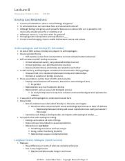 08 - ANT102 - Aashir Khan - Lecture Notes - Copyright Material ©