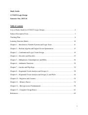 CCN2272 Study Guide (2015-16 Semester One)