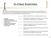 Chapter 15 In-Class Exercises Bb