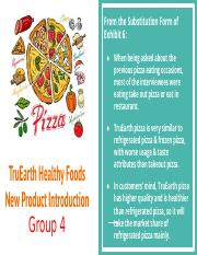 TruEarth Healthy Foods_ Market Research for a New Product Introduction_