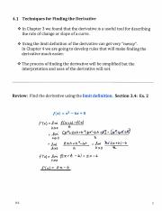 Section 4.1  Techniques for finding the derivative  Lecture Notes  NP.pdf