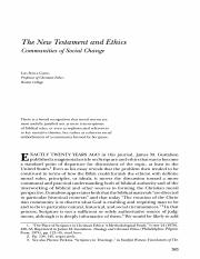 THE NEW TESTAMENT AND ETHICS COMMUNITY OF SOCIAL CHANGE.pdf