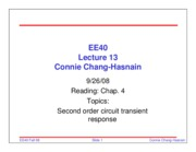 EE40_Fall08_Lecture13