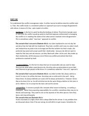 exercise on conflict communication.docx