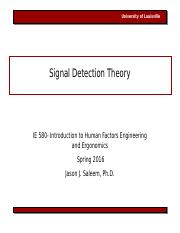 IE580 Lecture 4 Signal Detection Theory 012516.ppt