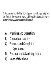 431Class06b-Commercial Liability in-class questions