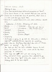 Humanities Lecture Notes Chapter 5 The Meaning of Love