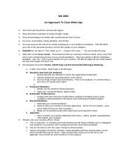 Approach to case write-ups.doc