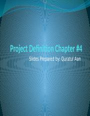 Project Definition Chapter4.pptx