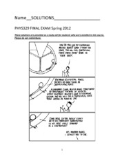 final exam 2012 solutions