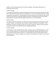 identify the functional strategies that mcdonald Mcdonalds case study essay - in order to understand mcdonald's structure and culture and why they continue to be the world's largest restaurant chain we conducted a swot analysis that allowed us to consider every dimension involved in the business level and corporate level strategies.