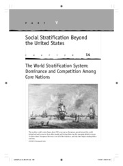 Social Stratification- Beyond the United States