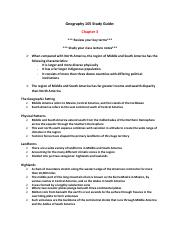 Geography 105 Study Guide (Chapter 3).pdf