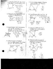 Finding Triangle Angle Measures