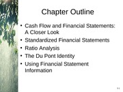 Chapter 3 - Working With Financial Statements