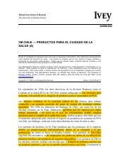 3M Chile - Healthcare Products (A) (esp)