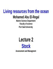 Liv R. Lecture Stock.ppt