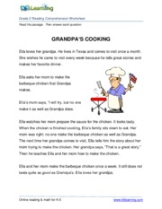 Worksheet Reading Comprehension Worksheets Pdf 2nd grade 2 reading comprehension worksheet grandpa pdf this is the end of preview sign up to access rest document unformatted text comprehensio
