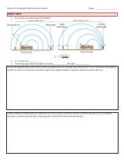 Physics 07-05 Doppler Effect and Sonic Booms