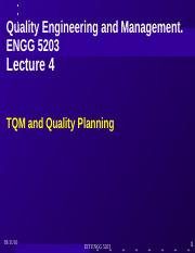 L04 ENGG 5203 S2 16 PPT Quality Framework projects and Engineering Planning(1)