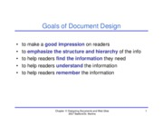 Ch 11 - Document, Web Design