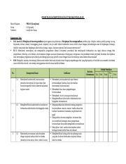 10 Program Tahunan Docx Program Tahunan Mata Pelajaran Satuan Pendidikan Kelas Semester Tahun Pelajaran Pkwu Kerajinan Sman 1 Pasuruan X Ganjil Dan Course Hero