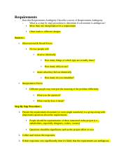 Software Requirements_Answer Key_Exam 1