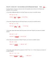Activity No.9_Conversion Ratios and Unit Dimensional Analysis_Key.doc