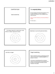 PRINTABLE LESSON 4 - Target marketing