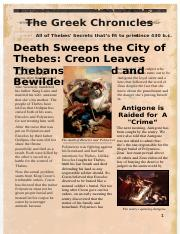 Thebes Newspaper
