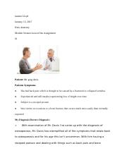 Module Sixteen Lesson One Assignment