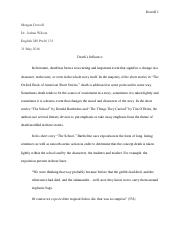 Second Essay (May 31)