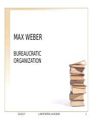 MAX WEBER-Beauricracy (2).ppt