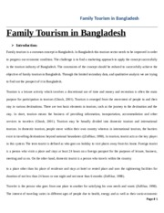 Final Family tourism mkt470 2
