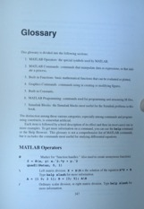 Diff Eq with Matlab - Glossary