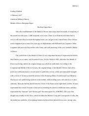 Medal of Honor paper.docx