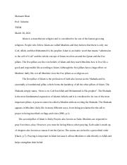 Islam Research Paper 2.docx