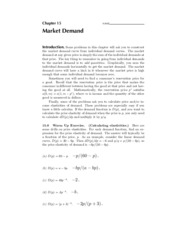 15. Market Demand - Solutions
