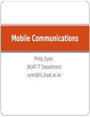 1. Introduction to Mobile Communications Sept 2014