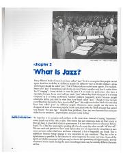 What Is Jazz-
