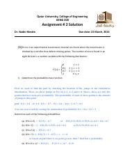 Assignment_2 Solution