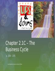 2.1C - Business Cycle