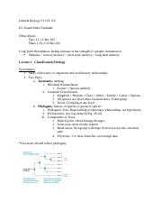 General Biology Lecture 1.docx