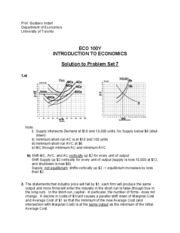 Solution to Problem Set 07 _ECO100_