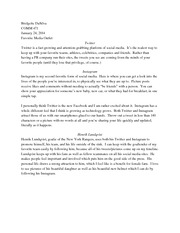 communications study resources 1 page social media essay 1