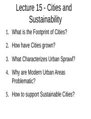 ES+2EI3+-+Lecture+15+-+Cities+and+Sustainability+-+A2L.docx